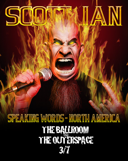Last Minute Thrash: Scott Ian Comes to CT!